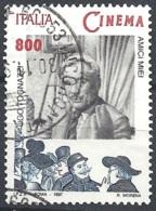 Italia, 1997 Ugo Tognazzi, 800L # Sassone 2309 - Michel 2529 - Scott 2172  USATO - 1946-.. République