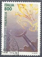 Italia, 1997 Giornata Della Filatelia, 800L # Sassone 2323 - Michel 2543 - Scott 2187  USATO - 1946-.. République