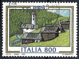 Italia, 1998 Livigno, 800L # Sassone 2341 - Michel 2561 - Scott 2205  USATO - 1946-.. République