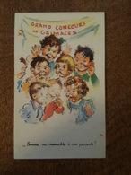 Illustrateur Germaine Bouret - Grand Concours De Grimaces - Comme On Ressemble à Nos Parents - N°1209 MD Paris - Bouret, Germaine