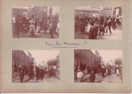 14 / CALVADOS A SITUER   / 8  TRES BELLES PHOTOS  / BAPTEME AVRIL 1901 - Villers Sur Mer