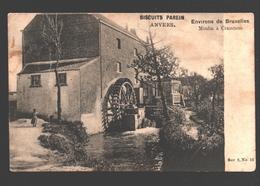 Kraainem - Environs De Bruxelles - Moulin à Crainhem - Molen / Mill - Reclame / Pub Biscuits Parein Anvers - Watermolen - Kraainem
