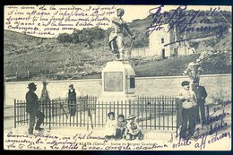 Cpa Du 20 2A Corse Alata Statue Du Sergent Casalonga    YN30 - France