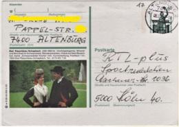 Bad Rippoldsau Schapbach - Ganzsache Bildpostkarte BPK 1992 - Bad Rippoldsau - Schapbach