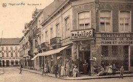 "1.Heyst-sur-Mer.-- Rue Léopold II.(devanture ""A La Ménagère Animée) - Heist"