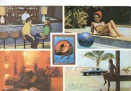 DELPHIN HOTEL GUARUJA SAO PAULO BRASIL TARJETA POSTAL COLOR CIRCA 1970 -LILHU - Hotel's & Restaurants
