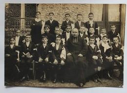 Photo 1914 Villiers Sur Marne Photo De Communiants Enfants Roger Blanc Religieux - Villiers Sur Marne