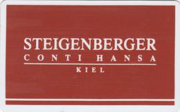 Hotel Key Card  - - -  Germany - - - Steigenberger Kiel - Hotelsleutels (kaarten)