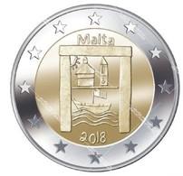 2 € MALTE 2018 ENFANTS - Malte