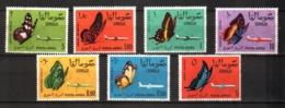 Somalia, 1961 Butterflies MNH Farfalle - Somalia (1960-...)