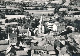 LE CHASTEL NOUVEL - N° 324 95 A - QUARTIER DE L'EGLISE VUE AERIENNE (C P S M) - Autres Communes