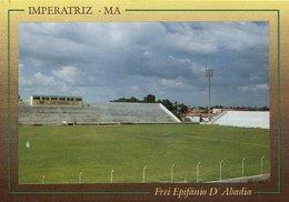 ESTADIO FREI EPIFANIO D'ABADIA IMPERATRIZ MA BRASIL TARJETA POSTAL COLOR CIRCA 1970 -LILHU - Brazilië