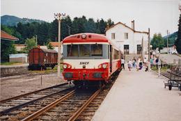 Cornimont EAD Photo 13 X 18 - Trains