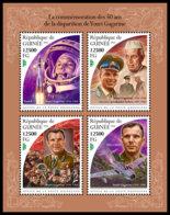 GUINEA REP. 2018 **MNH Yuri Gagarin Space Raumfahrt Espace M/S - OFFICIAL ISSUE - DH1847 - Space