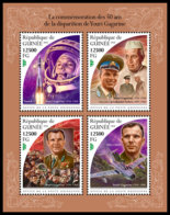 GUINEA REP. 2018 **MNH Yuri Gagarin Space Raumfahrt Espace M/S - IMPERFORATED - DH1847 - Space