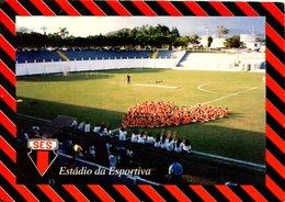 ESTADIO DA ESPORTIVA STADIUM SAO JOAO DA BOA VISTA SP BRASIL TARJETA POSTAL COLOR CIRCA 1990 -LILHU - São Paulo
