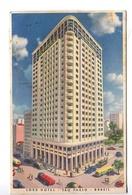 LORD HOTAL SAO PAULO BRASIL TARJETA POSTAL COLOR CIRCA 1950 -LILHU - São Paulo