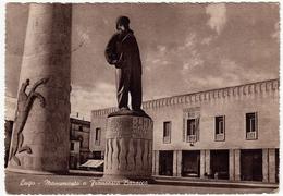 LUGO DI ROMAGNA - LUGO - MONUMENTO A FRANCESCO BARACCA - RAVENNA - 1954 - Vedi Retro - Ravenna