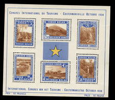 Bloc Costermanville ** Sans Charnière  Tourisme Parcs Nationaux  Cote 165,- € - Congo Belge
