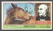 Dhufar 1979 Rowland Hill, Horses, Imperf.sheet, Used AI.040 - Oman