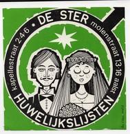 AALST  De STER - Stickers