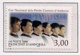 ANDORRA FRANCESA 1996 - CORO NACIONAL DE PEQUEÑOS CANTORES - YVERT Nº 480** - Andorra Francesa