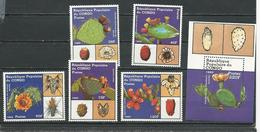 CONGO Scott 832-836 837 Yvert 855-859 BF44 (5+bloc) ** Cote 9,75 $ 1989 - Congo - Brazzaville