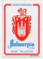 AALST  ANTWERPIA - Stickers