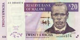 Malawi 20 Kwacha, P-52a (1.6.2004) - UNC - Malawi