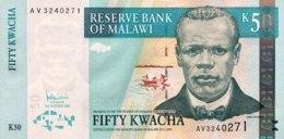 Malawi 50 Kwacha, P-53a (3.10.2005) - UNC - Malawi