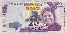 Malawi 20 Kwacha, P-57a (1.1.2012) - UNC - Malawi