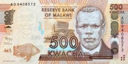 Malawi 500 Kwacha, P-61a (1.1.2012) - UNC - Malawi
