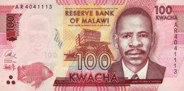 Malawi 100 Kwacha, P-65a (1.1.2014) - UNC - Malawi