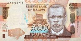 Malawi 500 Kwacha, P-66a (1.1.2014) - UNC - Malawi