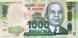 Malawi 1.000 Kwacha, P-67a (1.1.2014) - UNC - Malawi