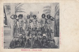 MASSAUA -DONNE ARABE-WOMAN-GIRL - Eritrea