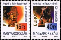 Hungary 1992 Mi 4195 - 4196 EUROPA - Hungría