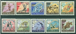URSS 1960 - Y & T N. 2310/19 - Jeux Olympiques De Rome - 1923-1991 URSS