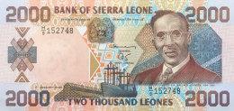 Sierra Leone 2.000 Leones, P-25 (1.1.2000) UNC - Sierra Leona