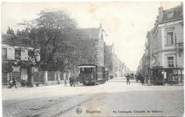 Bruxelles NA154: Ma Campagne, Chaussée De Waterloo ( Tramway ) - Transport Urbain En Surface