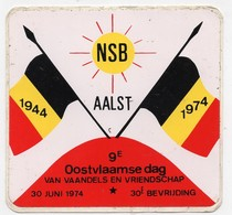 AALST  NSB  1974 - Stickers