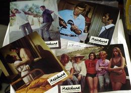 "{08150} Série 4 Photos Du Film "" Rosebud "" (b) Huppert O'Toole Attenborough Vallone Ariel  "" En Baisse "" - Photos"