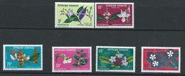 Gabon YT 283-288 XX / MNH Fleur Flower Flore Flora - Gabon (1960-...)