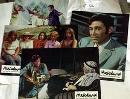 "{08152} Série 4 Photos Du Film "" Rosebud "" (d) Huppert O'Toole Attenborough Vallone Ariel  "" En Baisse "" - Photos"