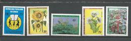 CONGO Scott 848, 856-859 Yvert 867, 875-878 (5) ** Cote 3,40 $ 1990 - Congo - Brazzaville