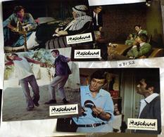 "{08153} Série 4 Photos Du Film "" Rosebud "" (e) Huppert O'Toole Attenborough Vallone Ariel.  "" En Baisse "" - Photos"
