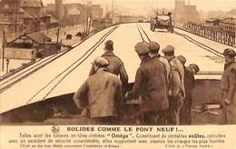 Publicité Charpente Couverture Oméga - Solides Comme Le Pont Neuf - Berchem - St-Agatha-Berchem - Berchem-Ste-Agathe