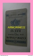 LIVRET CAISSE D EPARGNE ET DE PREVOYANCE DE BREST 1958 - Actions & Titres