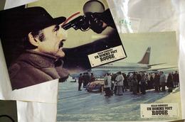 """{08164} Série 2 Photos Du Film """" Un Homme Voit Rouge """" Sean Connery, Ian Mcshane, Norman Bristow  """" En Baisse """" - Foto's"""