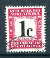 South Africa 1961-69 Postage Dues - 1st Wmk. - 1c Carmine Used (SG D51) - Postage Due